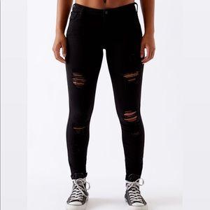 PacSun Black Perfect Fit Jeggings Short